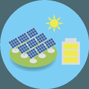 太陽光発電および蓄電システムの提案